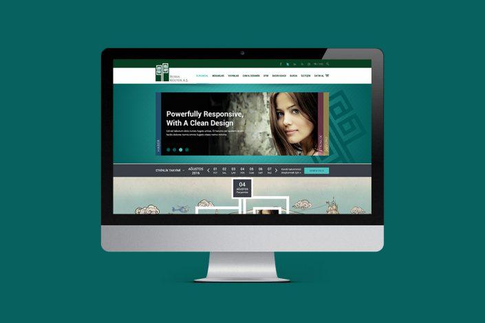 bursa kültür aş, web sitesi, web tasarım