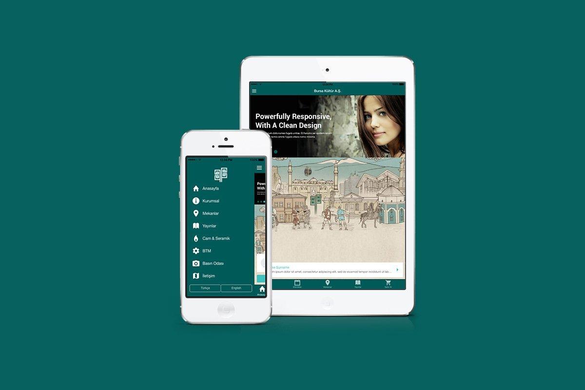 bursa kültür aş, mobil uygulama, mobil arayüz tasarımı
