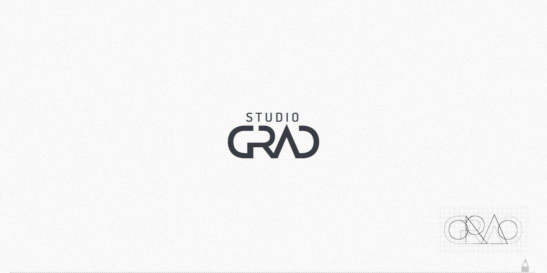 studio grad mimarlık, logo tasarım