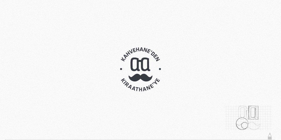 kahvehaneden kıraathaneye, logo tasarım