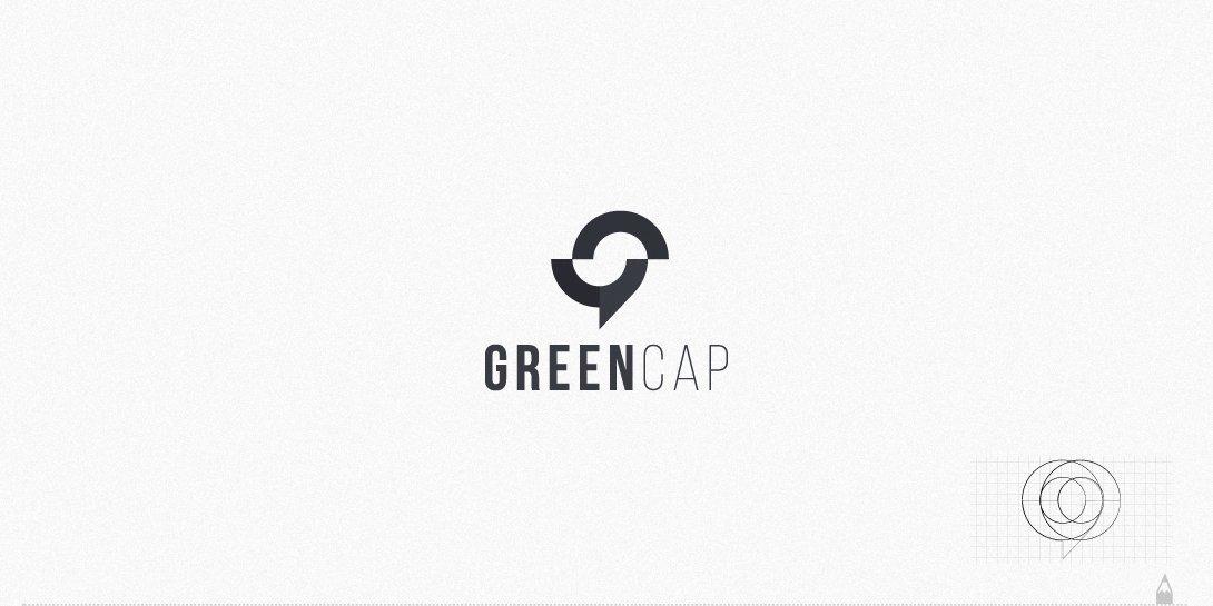 greencap, logo tasarım