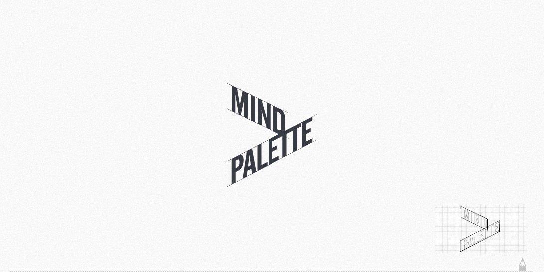 mind palette, logo tasarım