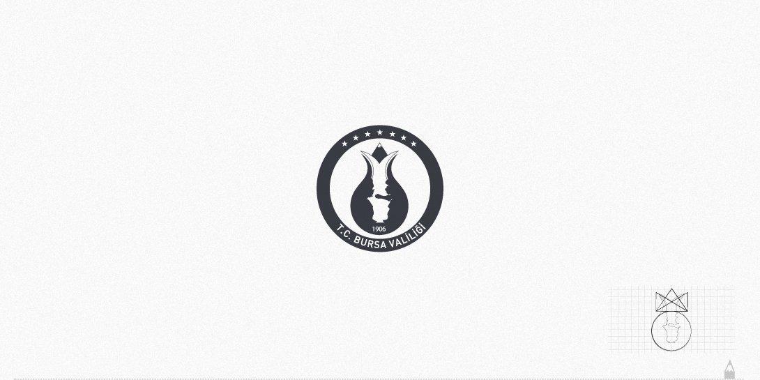 bursa valiliği, logo tasarım