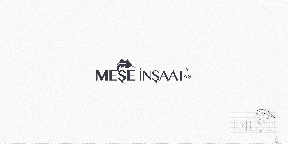 meşe inşaat, logo tasarım