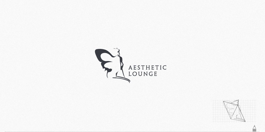 aesthetic lounge, logo tasarım