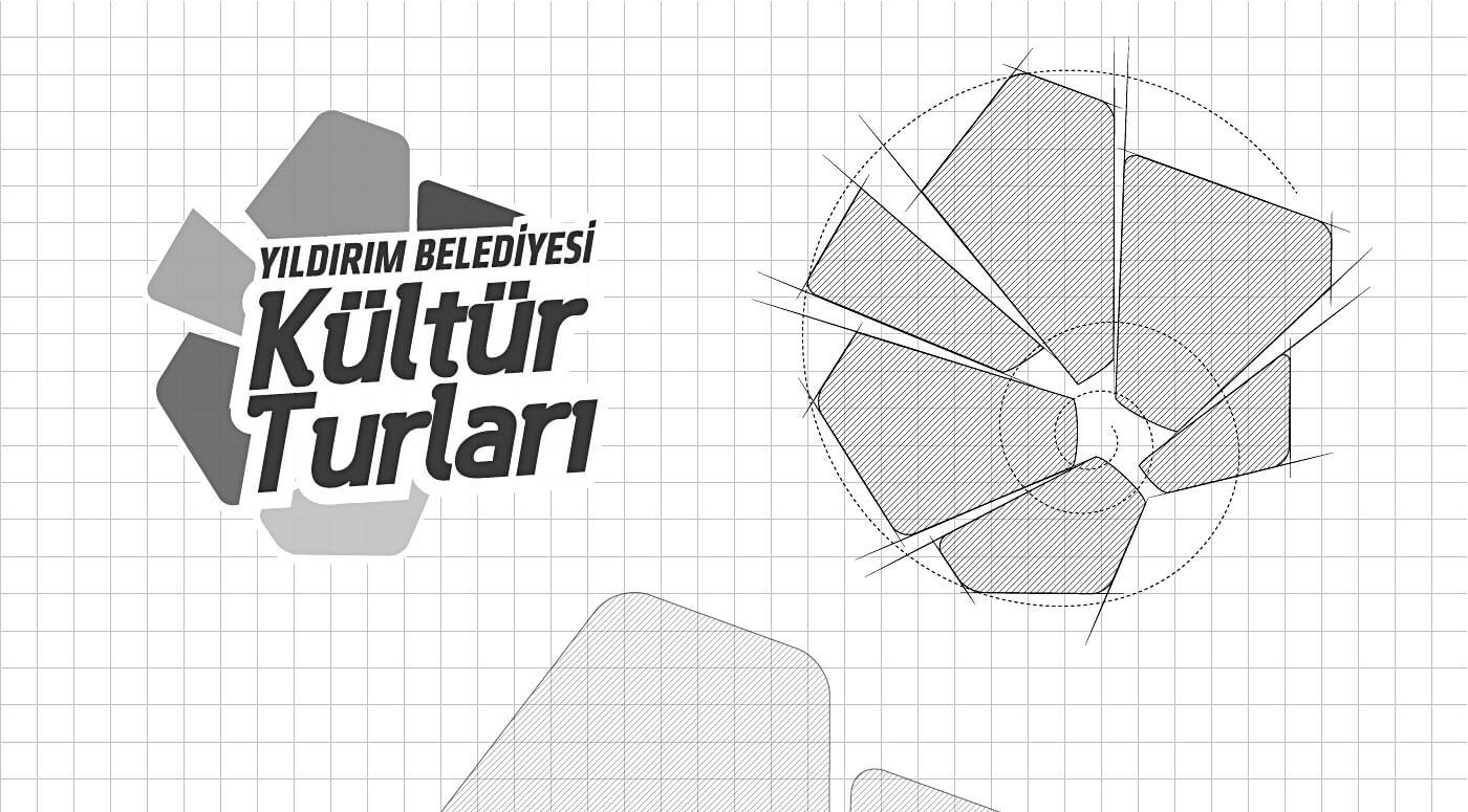 kültür turları, logo tasarım